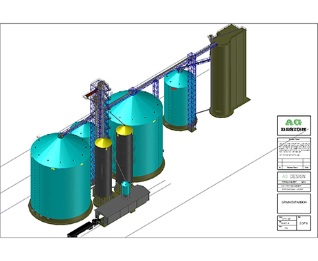 Ag Design, LLC COOP CORWITH EGG FARM EXPANSION-Layout2 Image